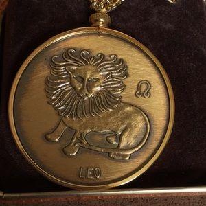 Other - Leo astrological sign necklace
